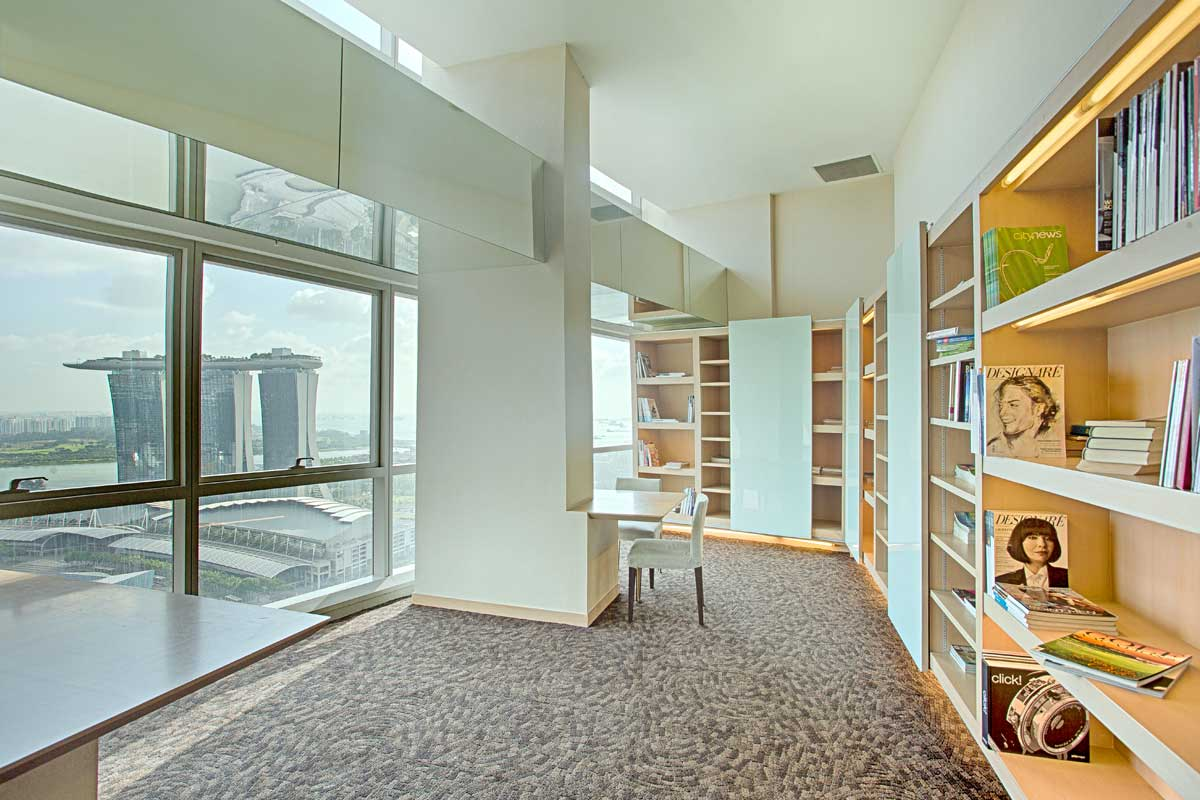 serviced residence business library 2 aurealis serviced